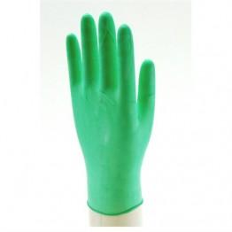 Muayene Eldiveni Latex Yeşil Pudralı Beybi